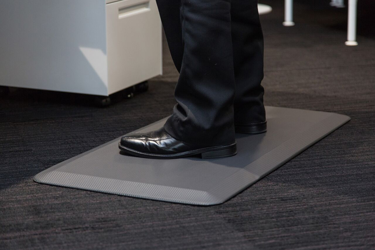 Anti fatigue standing mat how much does a 12x12 deck cost?