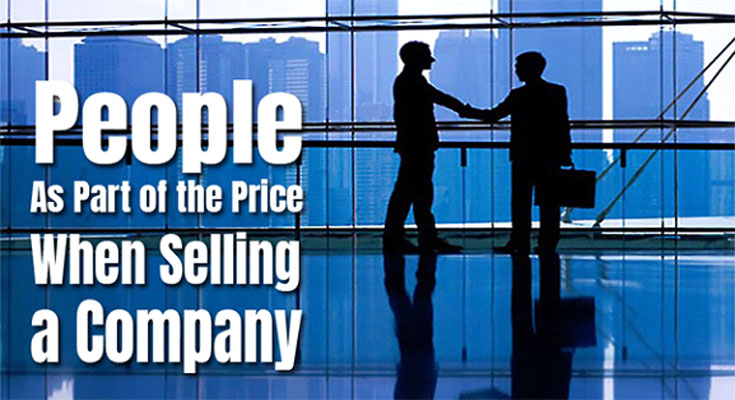Individuals As Part with the Price tag When Selling a Company